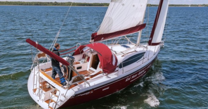 Rental Sailboat in Wilkasy - Northman Maxus 33.1 RS Prestige +