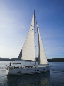 Rental Sailboat in Seget Donji - Hanse Hanse 588