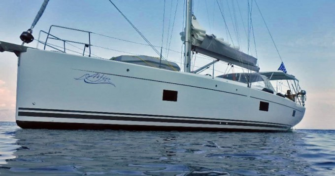 Boat rental Lávrio cheap Hanse 508