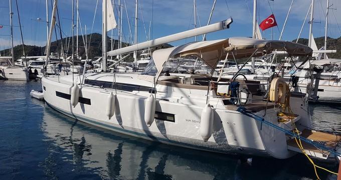 Boat rental Göcek cheap Sun Odyssey 490
