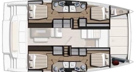 Rent a Bali Catamarans Bali 4.6 Marmaris