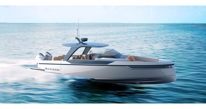 Boat rental Parikia cheap Saxdor 320 GTO