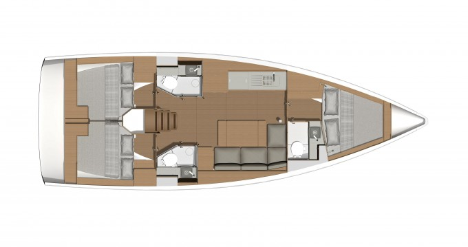Rental Sailboat in Lefkas Marina - Dufour Dufour 390 Grand Large