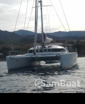 Boat rental Ajaccio cheap Lagoon 570