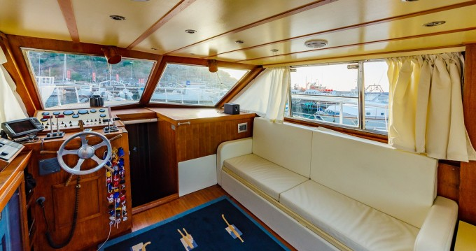 Hire Motorboat with or without skipper San Lorenzo Cefalù
