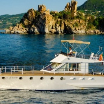 Motorboat for rent Cefalù at the best price
