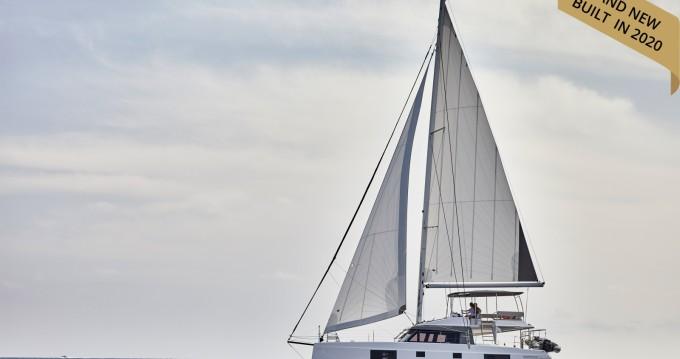 Catamaran for rent Santorini at the best price
