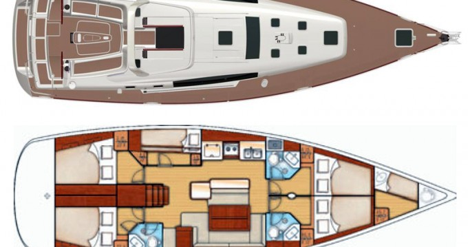 Rental yacht Alimos - Bénéteau Oceanis 50 Family on SamBoat