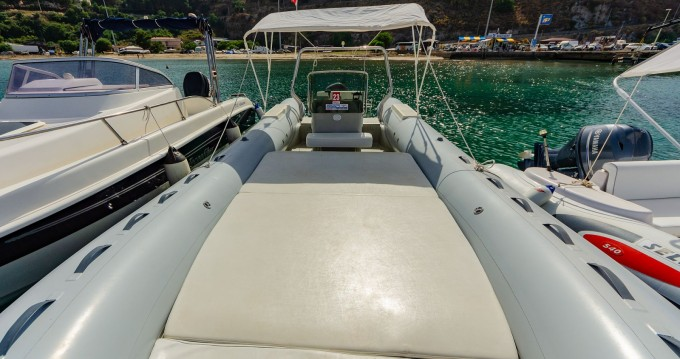 Hire RIB with or without skipper Capelli Cefalù
