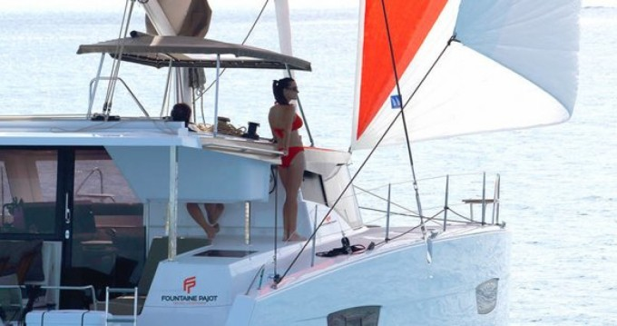 Boat rental Fountaine Pajot Fountaine Pajot in Le Marin on Samboat