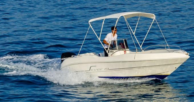 Rental Motorboat in Cefalù - Silver 19
