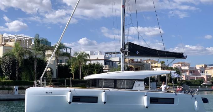 Rental yacht Limassol - Lagoon Lagoon 40 on SamBoat