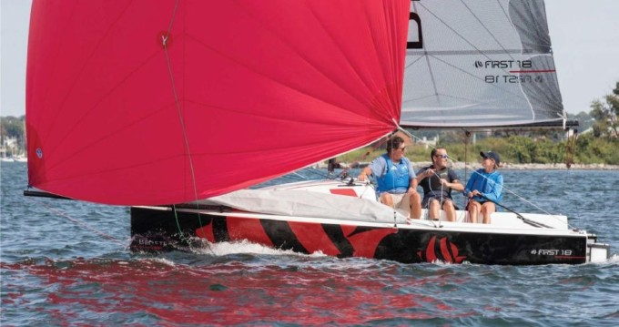 Boat rental Lorient cheap First 18