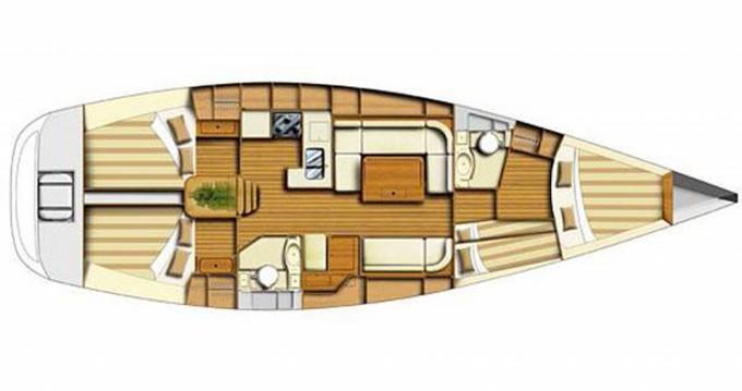 Rental Sailboat in Port de Palamós - Dufour Dufour 44 Performance