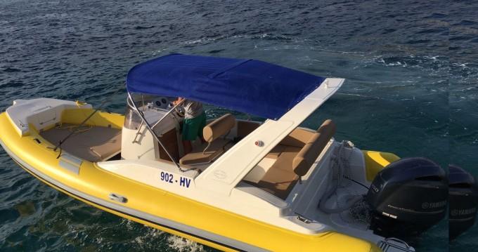 Boat rental Hvar cheap Solemar S 580
