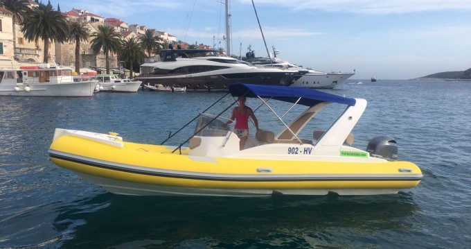Hire RIB with or without skipper Solemar Hvar