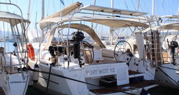 Rental yacht Lefkas Egremni - Dufour Dufour 412 Grand Large on SamBoat