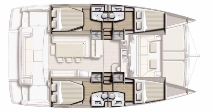 Rental yacht Port Grimaud - Bali Catamarans Bali 4.1 on SamBoat