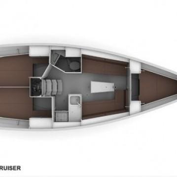 Bavaria Cruiser 34 between personal and professional Biograd na Moru