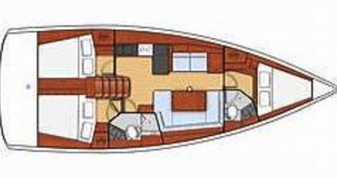 Rental yacht Port Grimaud - Oceanis Océanis 41,1  on SamBoat