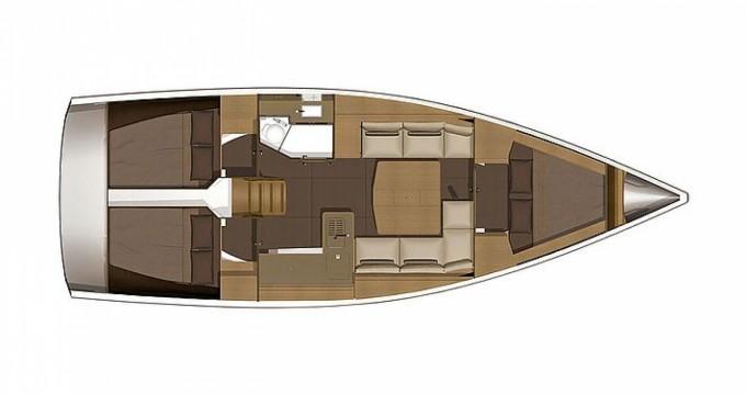 Rental Sailboat in Port Grimaud - Dufour Dufour 382