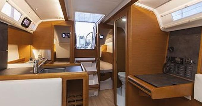 Boat rental Port Grimaud cheap Sun Odyssey 349