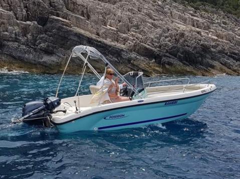Rental Motorboat in Zakynthos (Island) - Poseidon Azzura 500