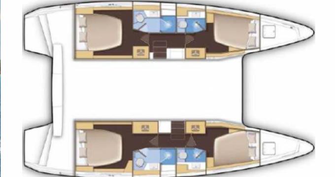 Catamaran for rent Saint-Raphaël at the best price