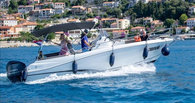Boat rental Jeanneau Cap Camarat 7.5 CC in Rabac on Samboat