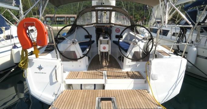 Rental Sailboat in Göcek - Jeanneau Sun Odyssey 349