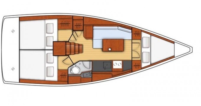 Bénéteau Oceanis 35.1 between personal and professional Castiglioncello