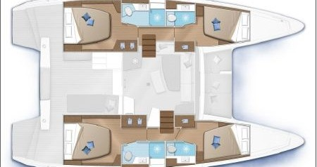 Rental yacht Marina di Portorosa - Lagoon Lagoon 42 on SamBoat
