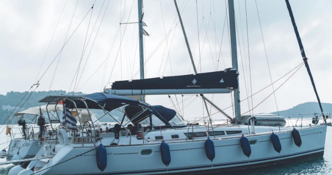 Jeanneau Sun Odyssey 49 between personal and professional Volos