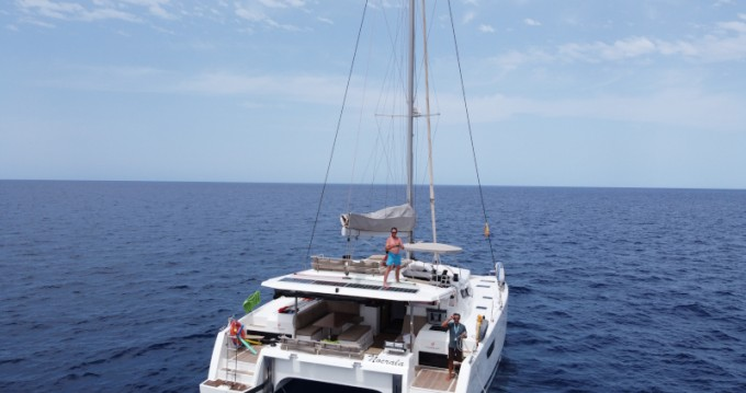 Fountaine Pajot Saona 47 between personal and professional Ibiza Town