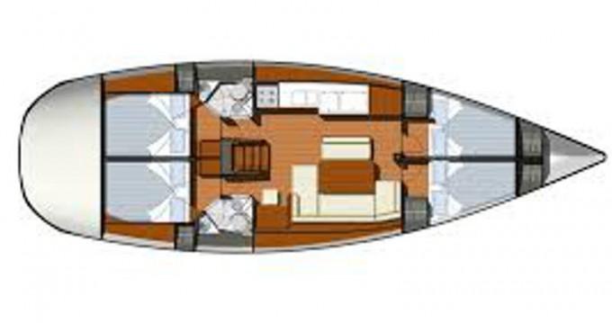 Boat rental Alimos cheap Sun Odyssey 44i