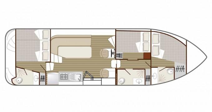 Boat rental  Confort 1100 in Dole on Samboat