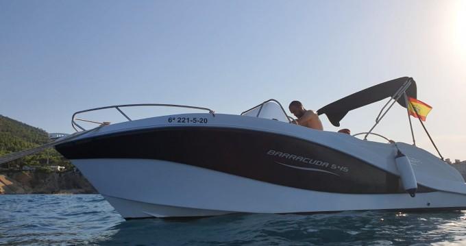 Rental Motorboat in Altea - Okiboats Barracuda 545 Open