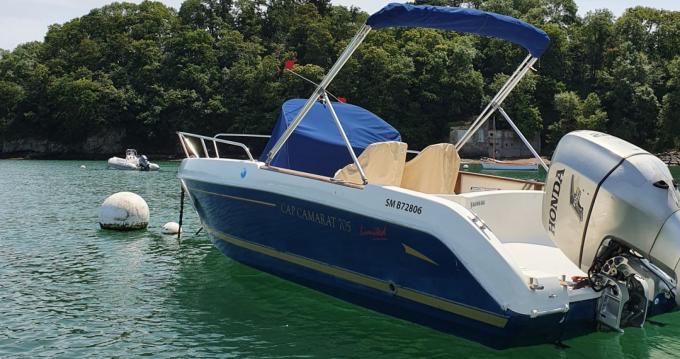 Rental Motorboat in Plouër-sur-Rance - Jeanneau Cap Camarat 705 CC