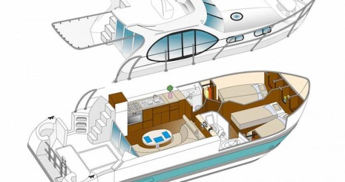 Rental yacht Dole -  Estivale Quattro B on SamBoat
