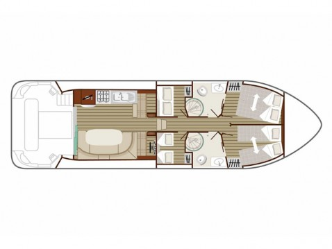 Boat rental Sablé-sur-Sarthe cheap Estivale Octo