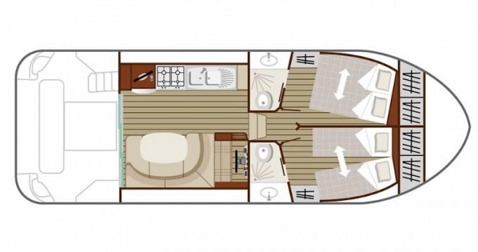 Rental yacht Cahors -  Estivale Quattro B on SamBoat