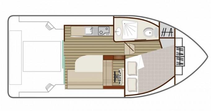 Boat rental Saverne cheap Sedan Primo