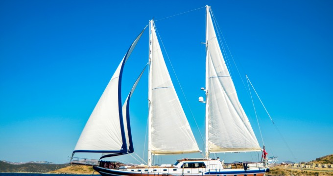 Hire Sailboat with or without skipper Custom Made Bodrum