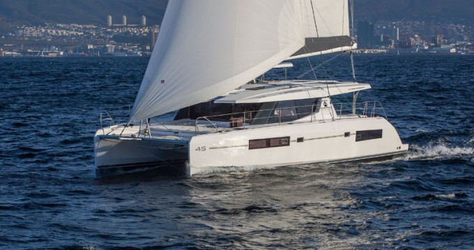 Hire Catamaran with or without skipper Leopard Placentia Village
