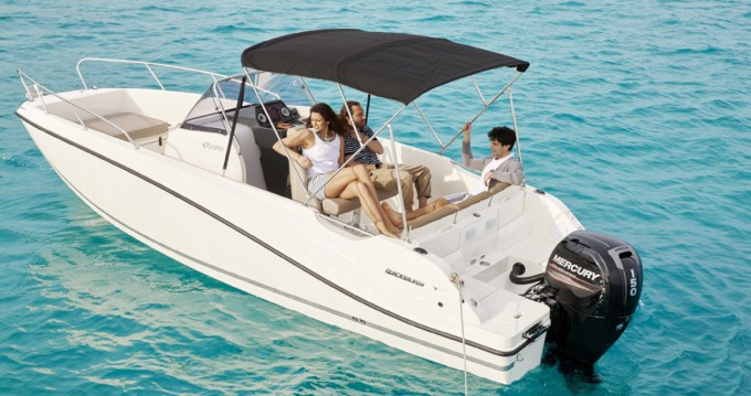 Hire Motorboat with or without skipper Quicksilver Split