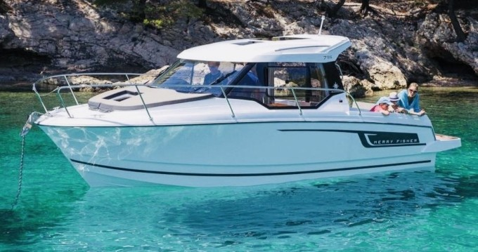Boat rental Split cheap Merry Fisher 795