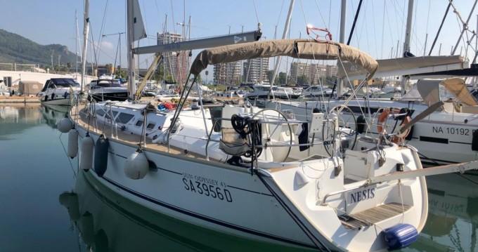 Rent a Jeanneau Sun Odyssey 43 Salerno
