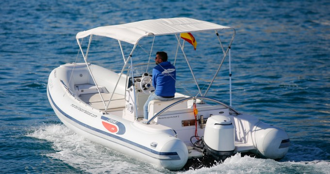RIB for rent Puerto Deportivo de Marbella at the best price