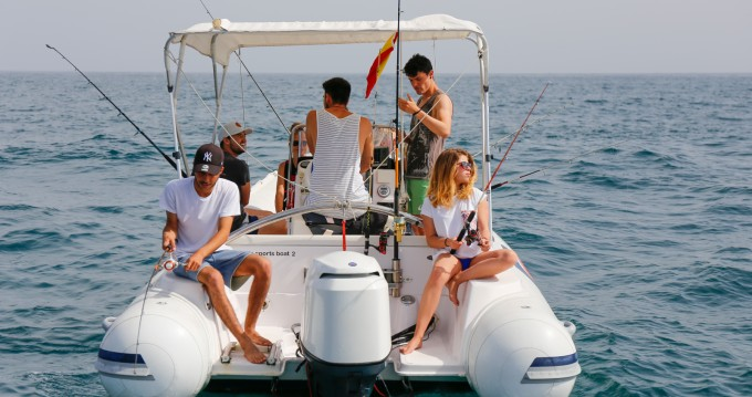 Hire RIB with or without skipper Selva Puerto Deportivo de Marbella