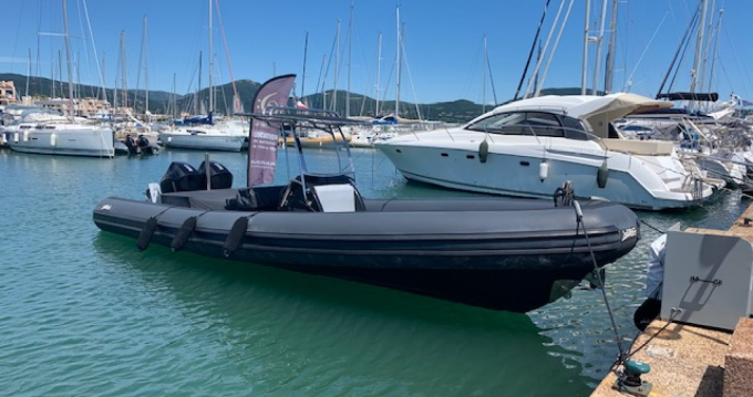 Hire RIB with or without skipper Sea Water Cogolin